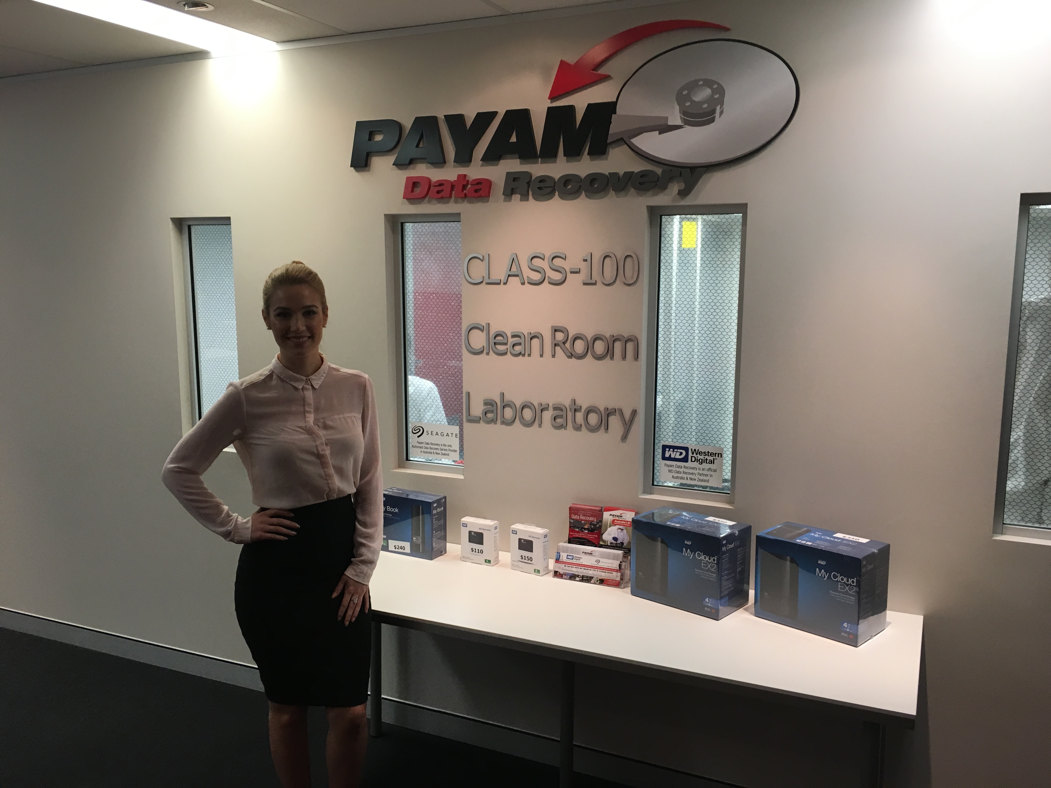 Payam Data Recovery Clean Room